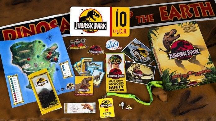 Jurassic-Park-Visitor-Center-Edition limitée-Legacy-Kit