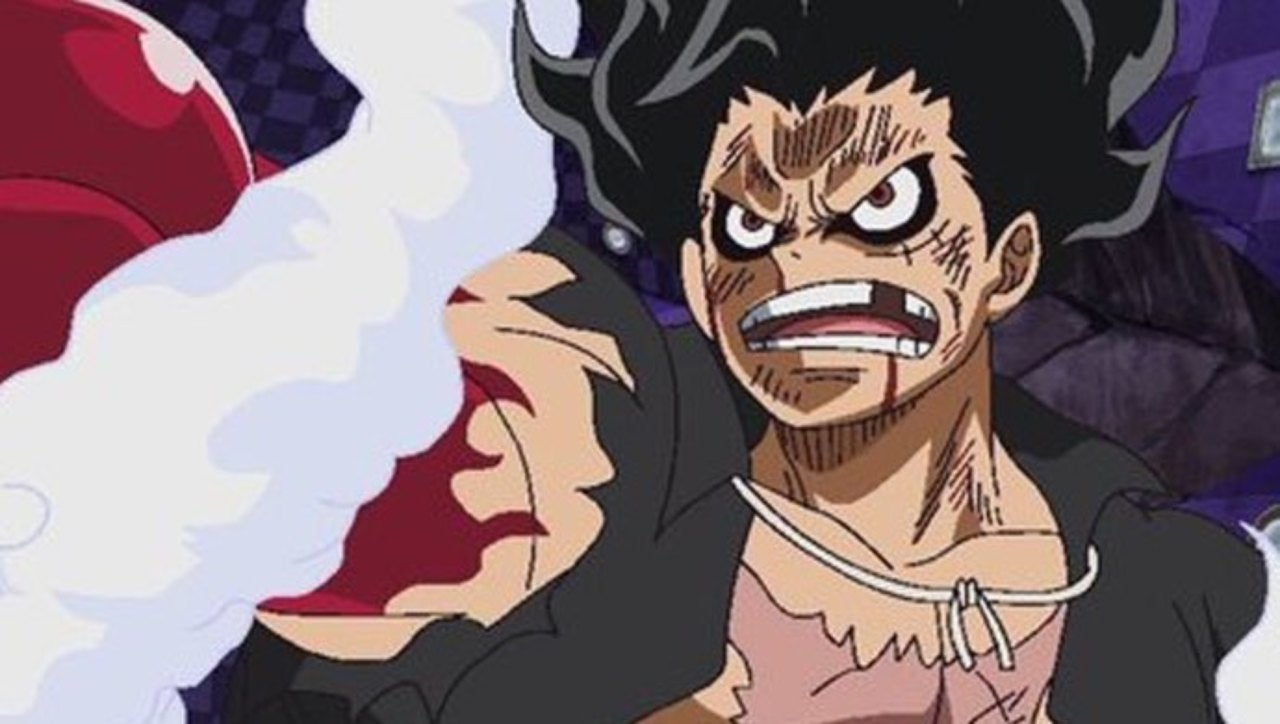 After that, he will blow the air inside his arm and make it massive. 'One Piece' Reveals Luffy's New Form, Gear Four Snakeman