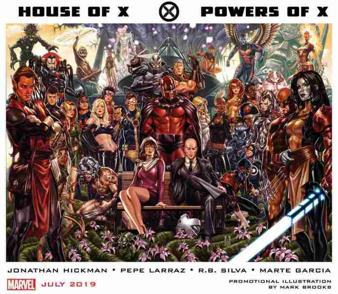 House of X Powers of X x-men
