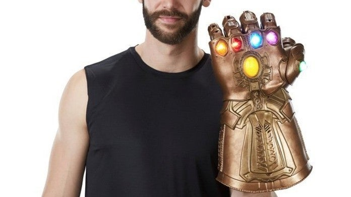 Marvel Infinity guerre Infinity Gauntlet électronique Poing Fist Figure