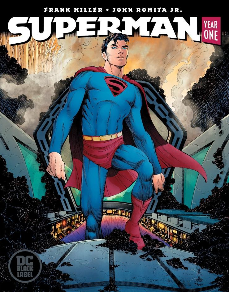 Superman Year One 1 Cover