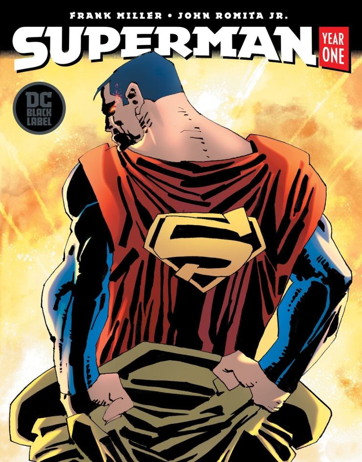 Superman Year One 4 Cover