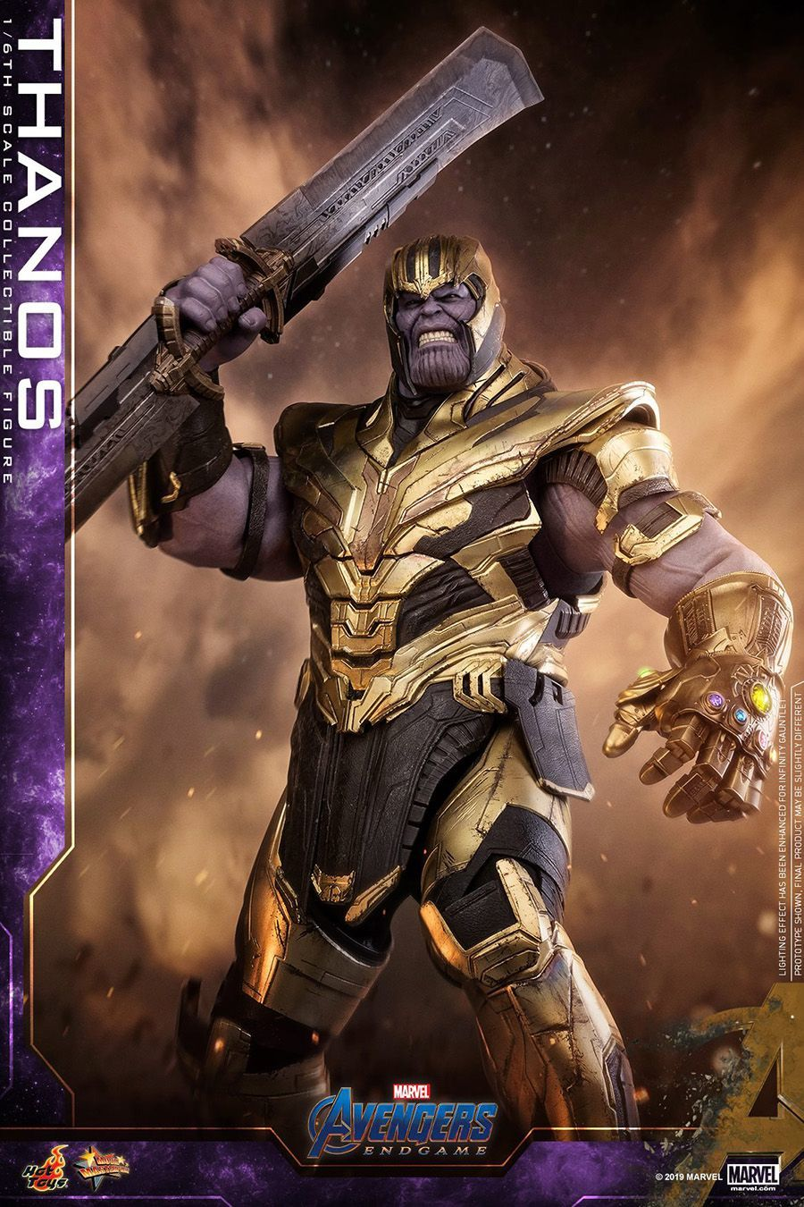 Thanos' New Look And Weapon For 'Avengers: Endgame' Revealed In Detail By Hot Toys