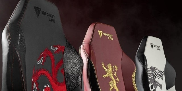 New Game of Thrones Gaming Chairs Announced by Secretlab