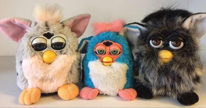 Jouets terrifiants - Furby