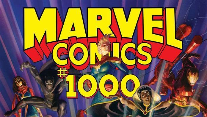 marvel comics 1000 review