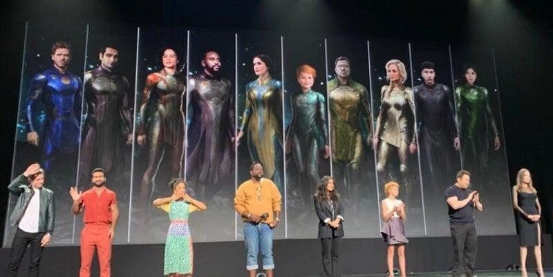 Marvel's Eternals Costumes Concept Art