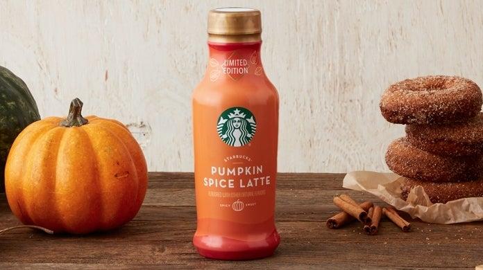 starbucks iced pumpkin spice