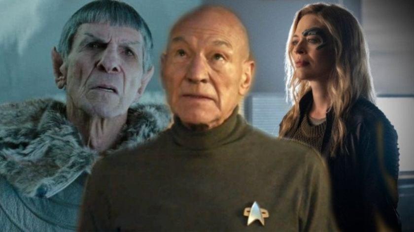 How Star Trek: Picard Ties Three Star Trek Series Together