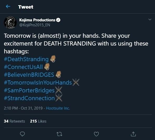 Death Stranding Emojis