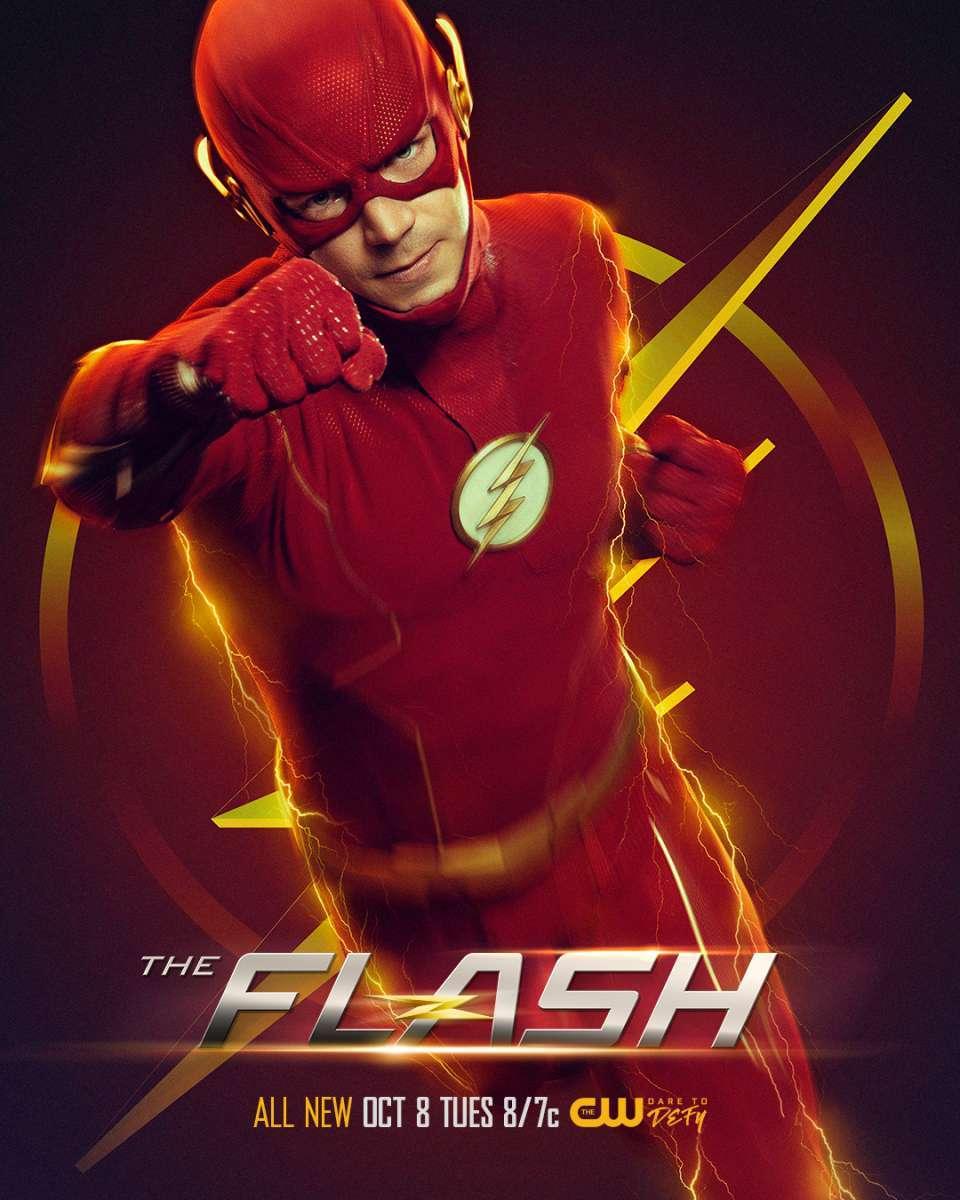 a4 poster the flash season 6 photo