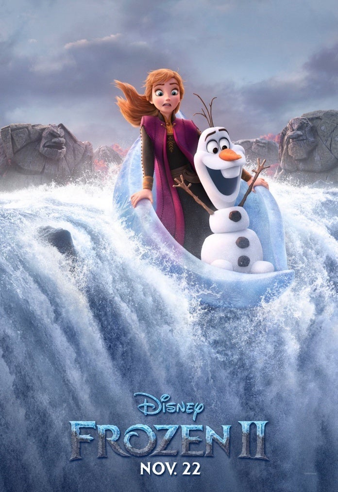 Frozen 2 Character Posters Released