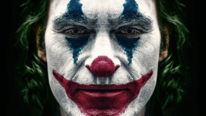 Face of Joker in the movie