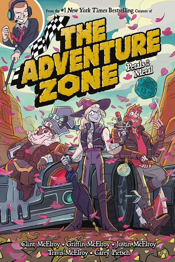 The Adventure Zone GN Vol 03 Petals to the Metal