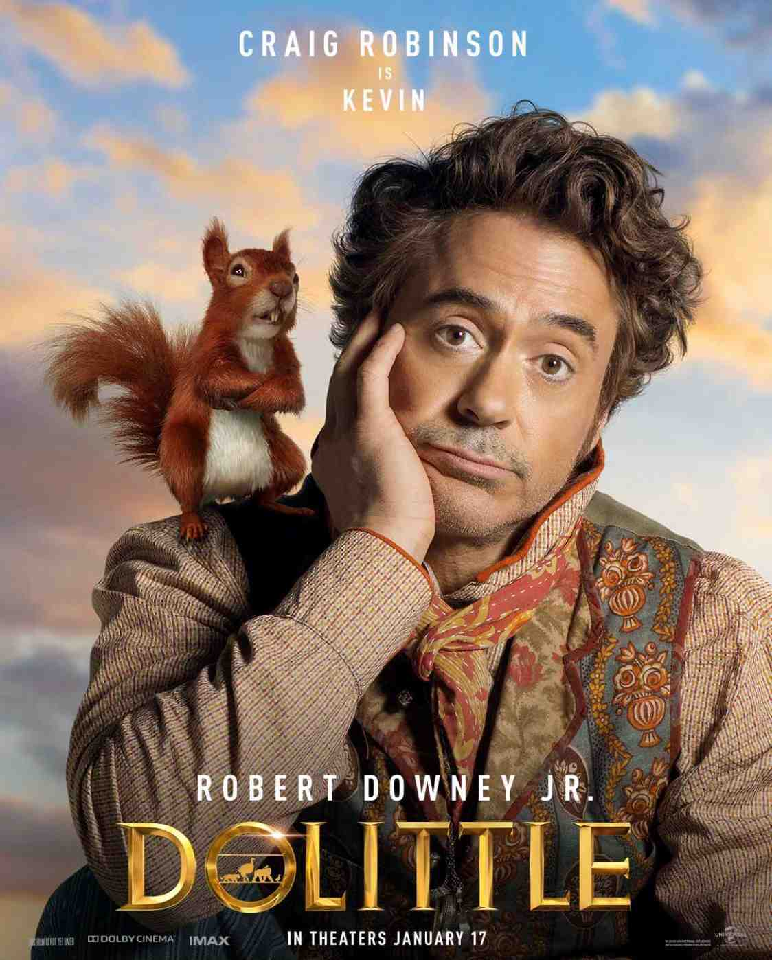 Robert Downey Jr Reveals New Dolittle Character Posters
