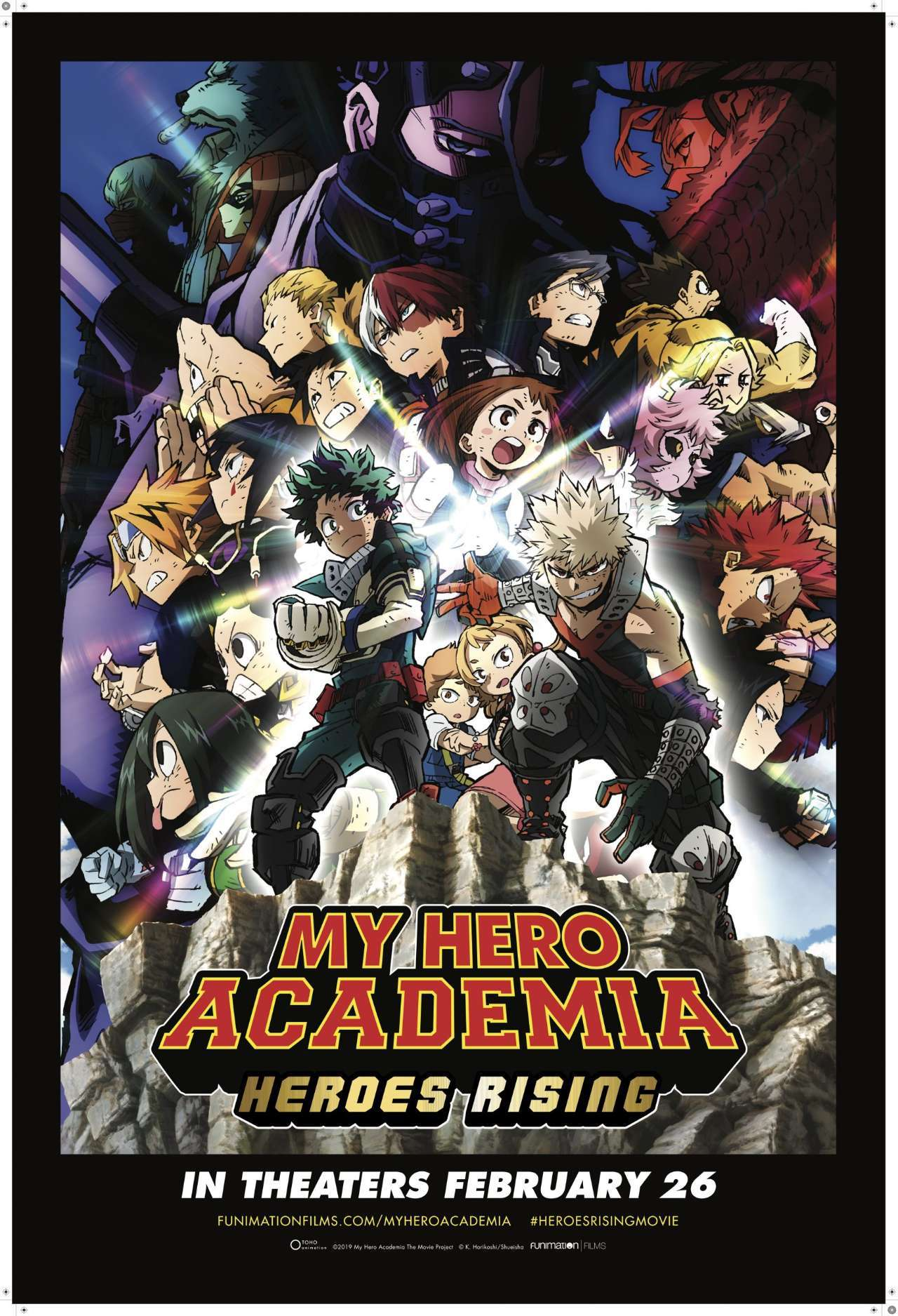 My Hero Academia Heroes Rising Reveals New Poster