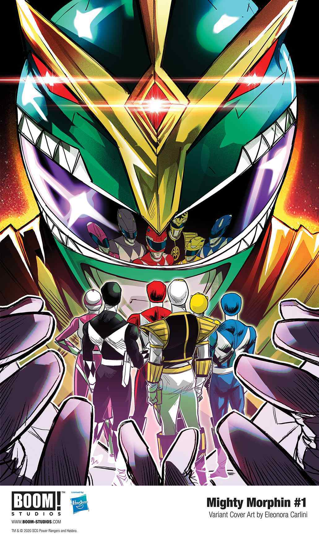 New Power Rangers : power, rangers, Power, Rangers, Reveals, Mighty, Morphin, Series, Mysterious, Green, Ranger, (Exclusive)