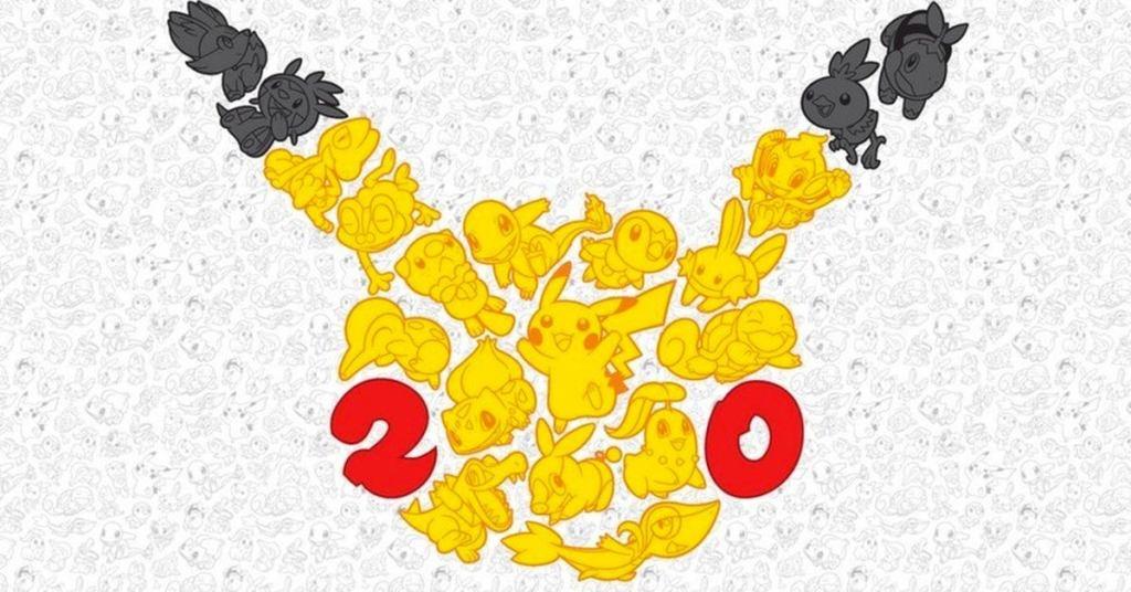 pokemon anniversary logo