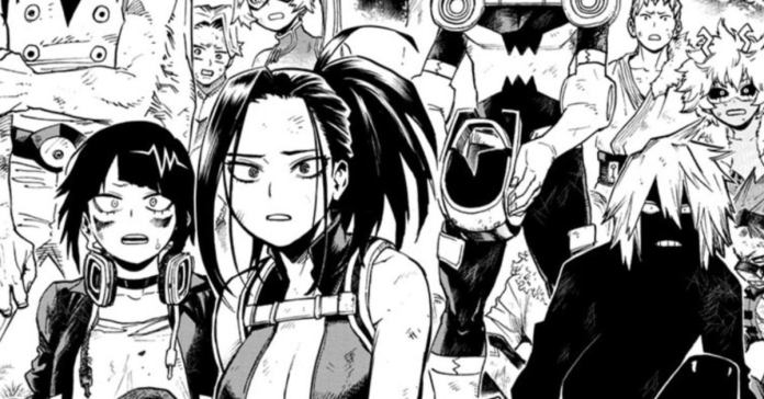 My Hero Academia Why Gigantomachia Leaves Class 1-A Alone Explained Manga Spoilers