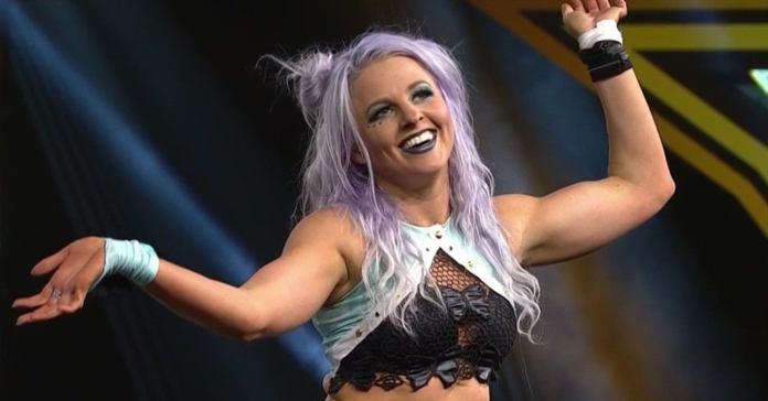 NXT's Candice LeRae