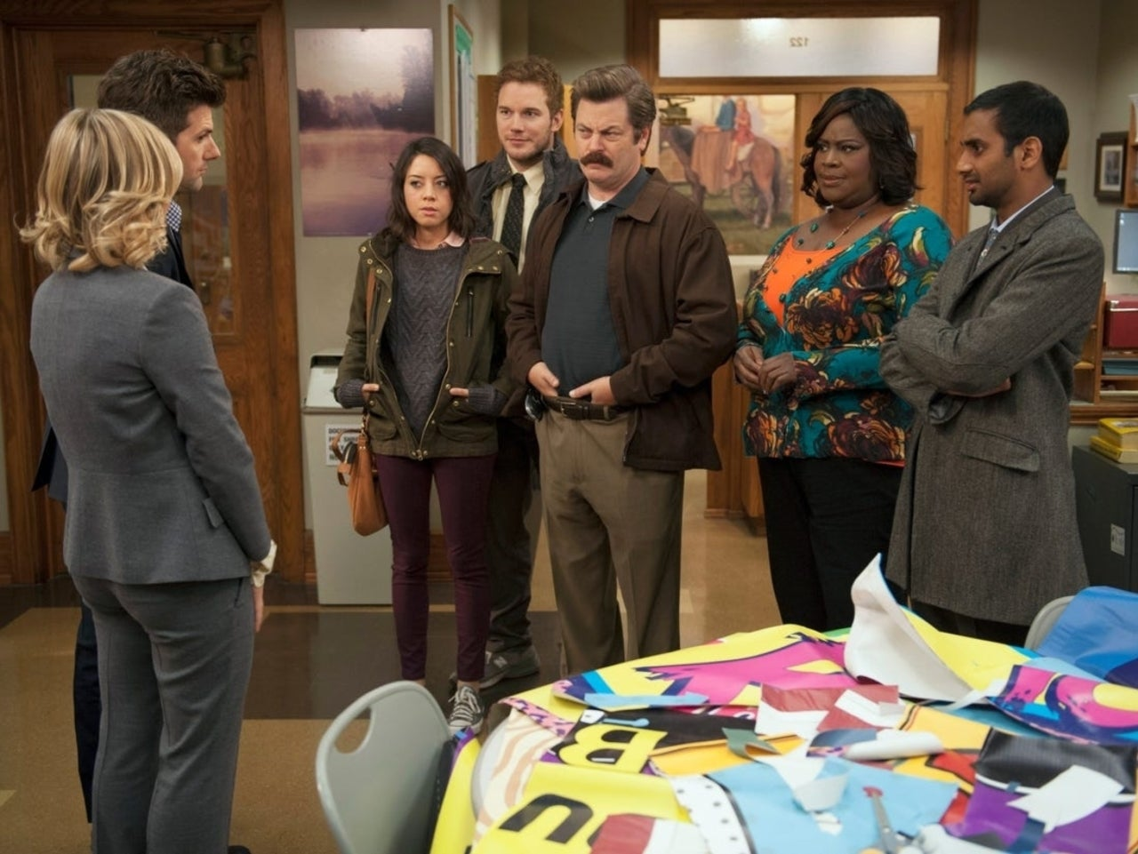 Parks And Rec Cast Reuniting For Town Hall Special