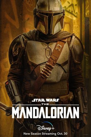 Star Wars The Mandalorian Season 2 Posters de personajes Pedro Pascal