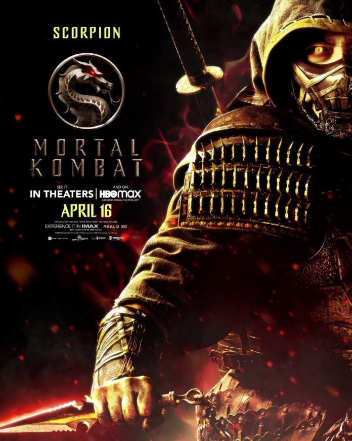 mortal kombat movie scorpion poster 1257057 9to5game