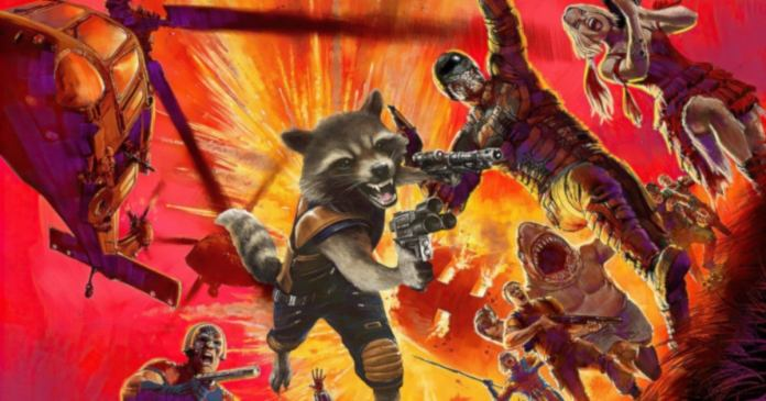 James Gunn Describes Gigantic Guardians Galaxy 3 After R Rated Suicide Squad