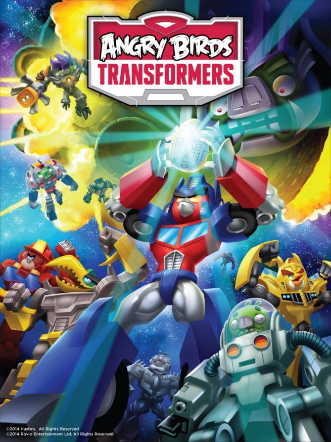 Angry Birds Transformers Video Game Announced