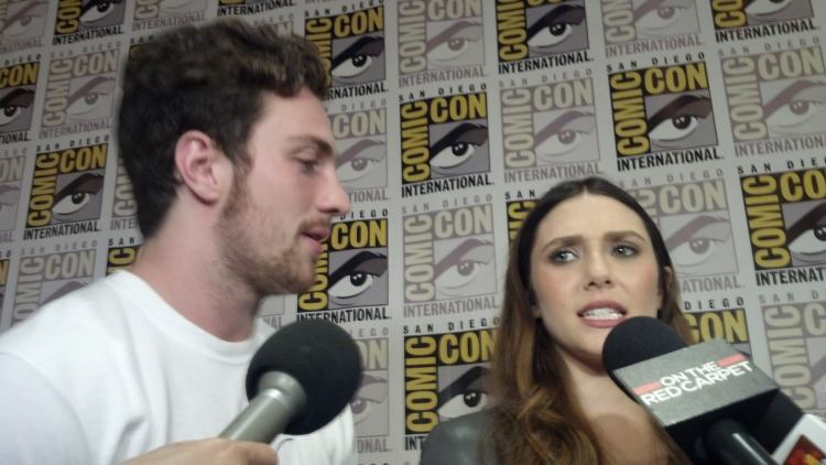 Avengers: Age of Ultron's Aaron Taylor-Johnson: Scarlet ...