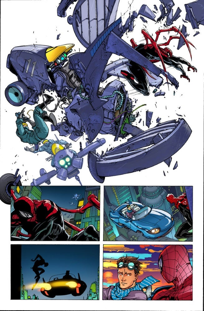 First Look At Superior Spider Man 32