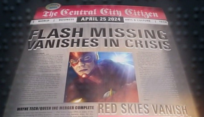 Image result for the flash infinite crisis article