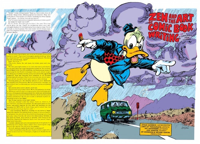 Image result for Howard the Duck Zen and the art