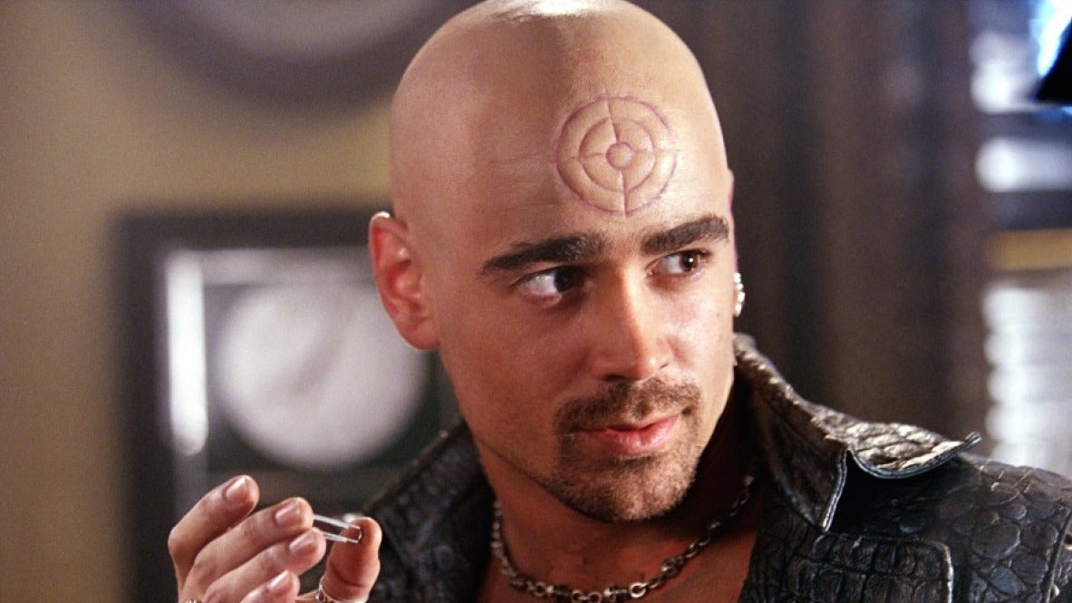 Image result for colin farrell bullseye