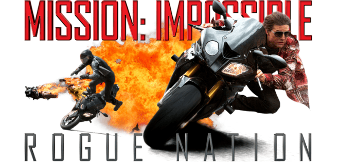 Image result for mission impossible rogue nation banner