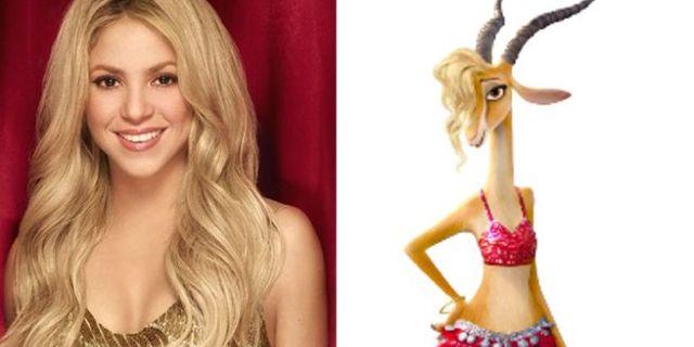 Shakira To Voice Gazelle In Zootopia
