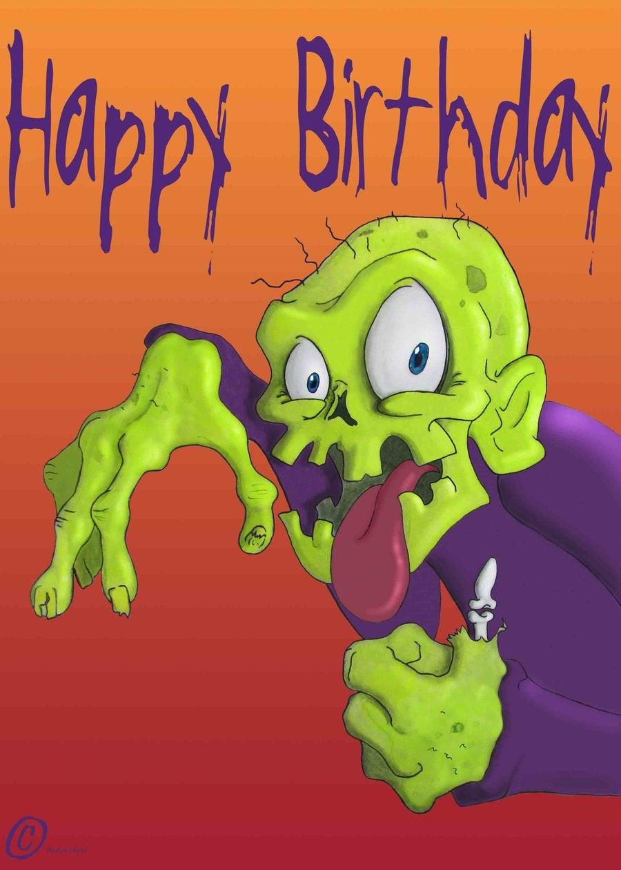 Zombie Birthday Quotes QuotesGram