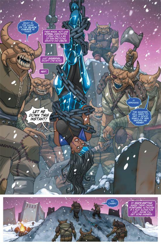 Exclusive DC Comics Preview Voodoo 10