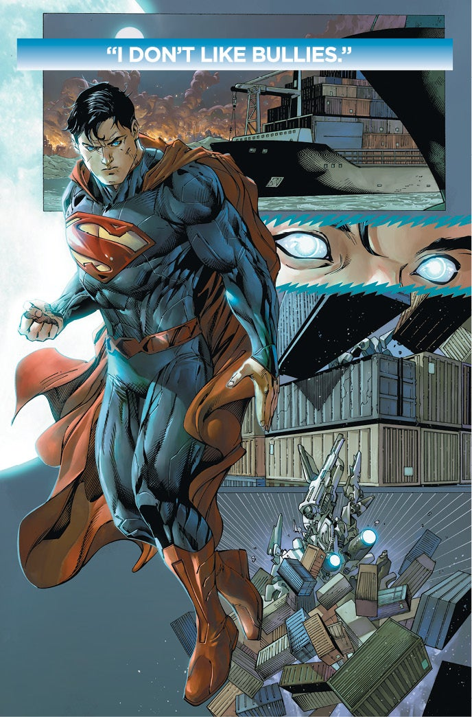 Superman is Joined By Diggle Daniel in Action Comics 19 Preview
