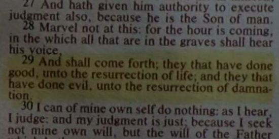 Walking Dead Bible Verse