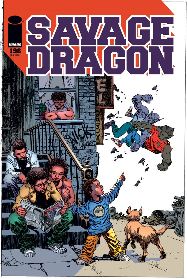 Savage Dragon 196