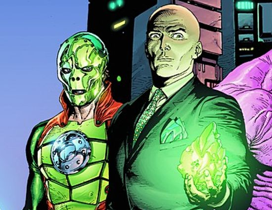 Image result for lex luthor metallo