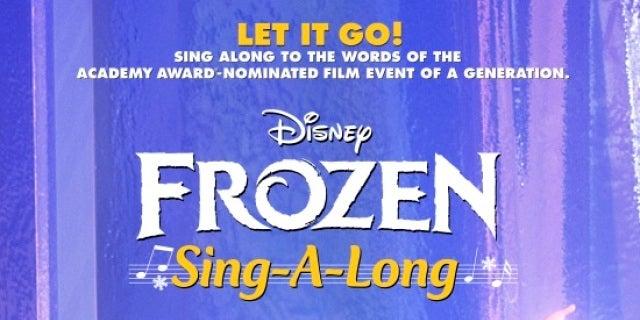 Frozen Let It Go Sing Along Clip