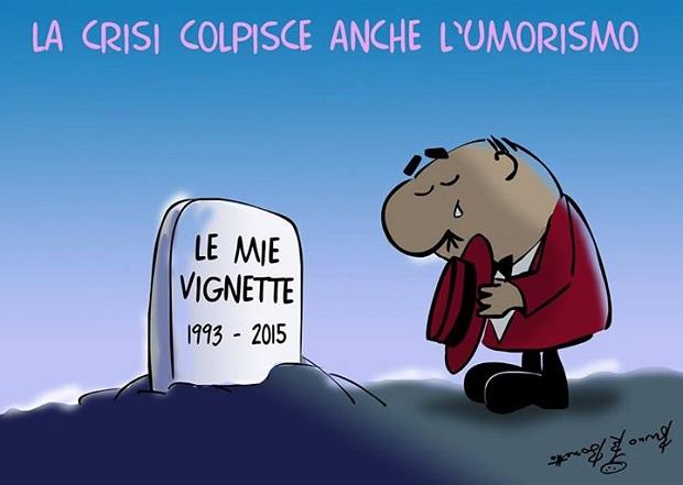 Corriere della Sera  Bruno Bozzetto  Vignette pagina dei Lettori