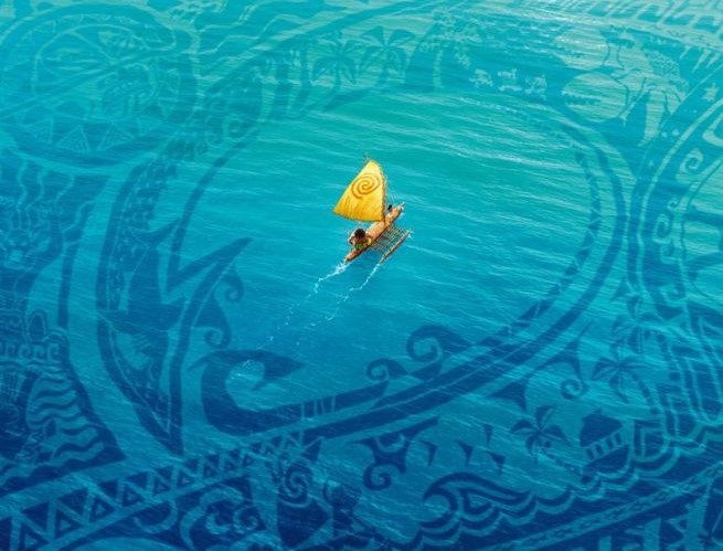 Oceania  Film Disney  2016