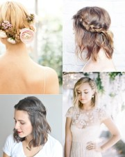9 short wedding hairstyles