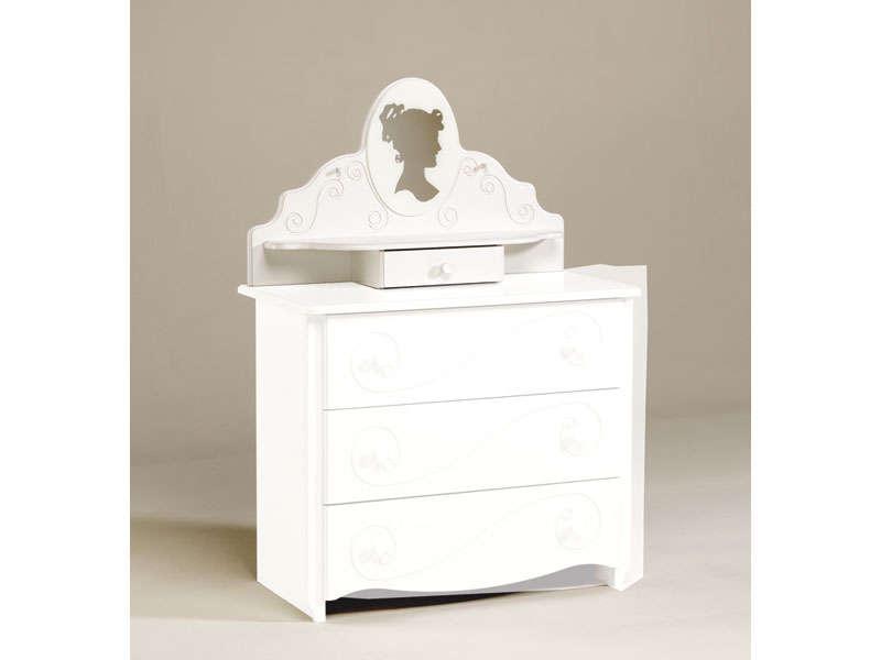 Coiffeuse Pour Commode ALICE Coloris Laqu Blanc Vente
