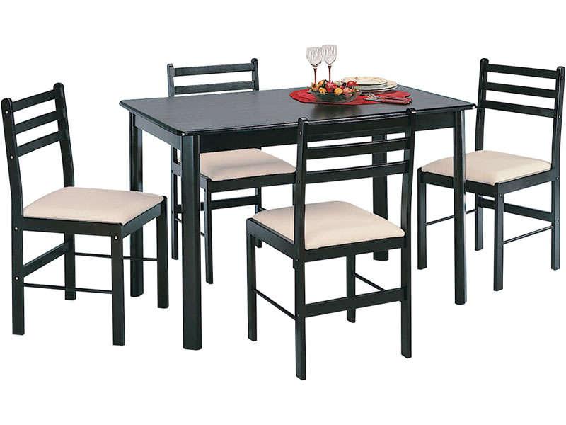 Ensemble Table 4 Chaises NEW QUATRO DARK Vente De