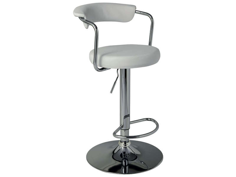 Tabouret De Bar JANET Coloris Blanc Vente De Bar Et