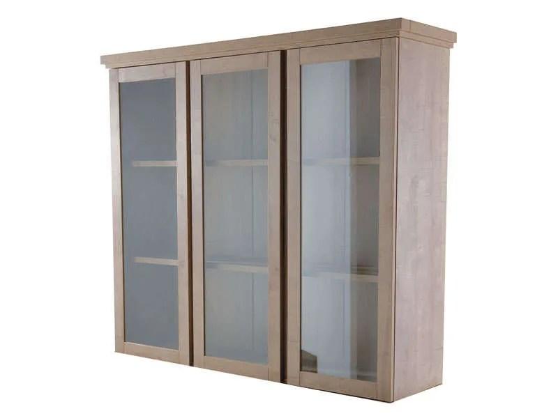 vitrine 3 portes